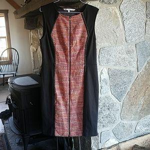 Rachel Roy colorful tweed bodycon Dress